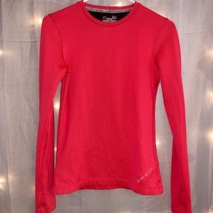 Under Armour Hot Pink Cold Weather Shirt